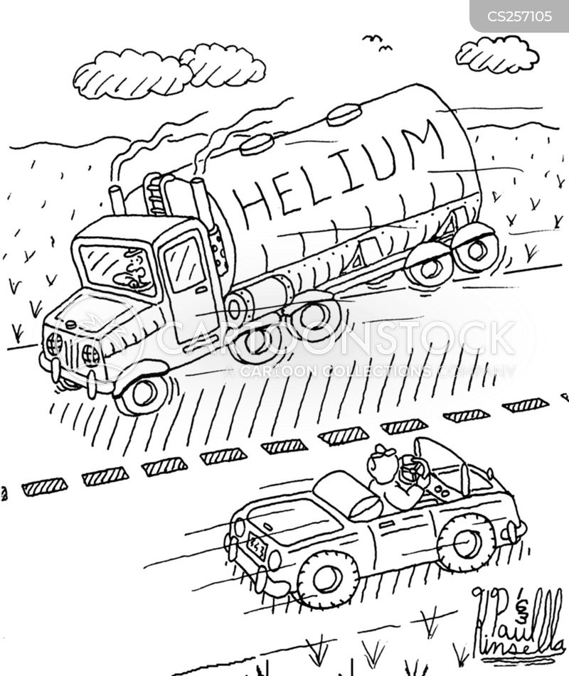 tanker truck cartoon