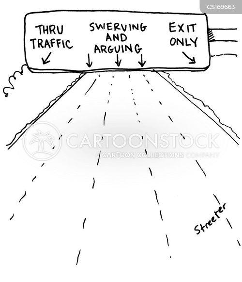 exit cartoon