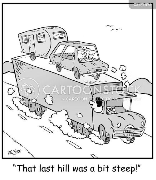 trucker cartoon