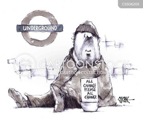 tube stations cartoon
