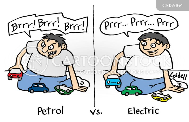 Petrol Cars Cartoons And Comics Funny Pictures From Cartoonstock
