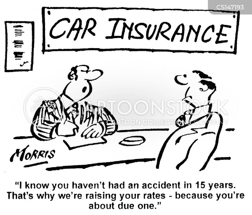 insurance rates cartoon