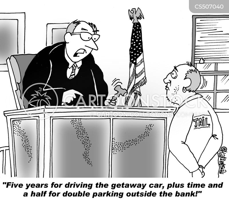 parking offense cartoon