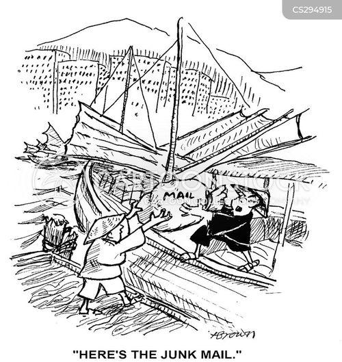 deliverer cartoon