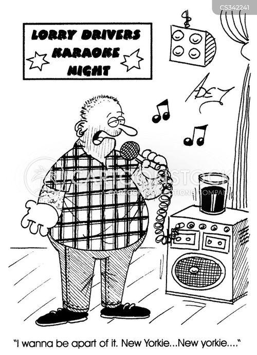 karaoke nights cartoon