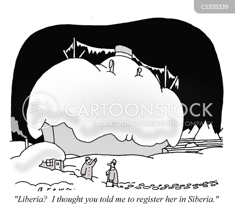 siberia cartoon