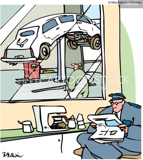 chauffeur cartoon