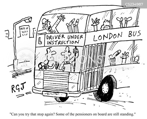 learner drivers cartoon