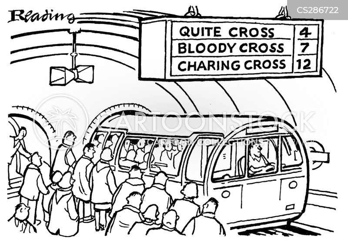 charing cross cartoon