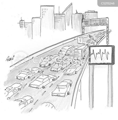heart rates cartoon
