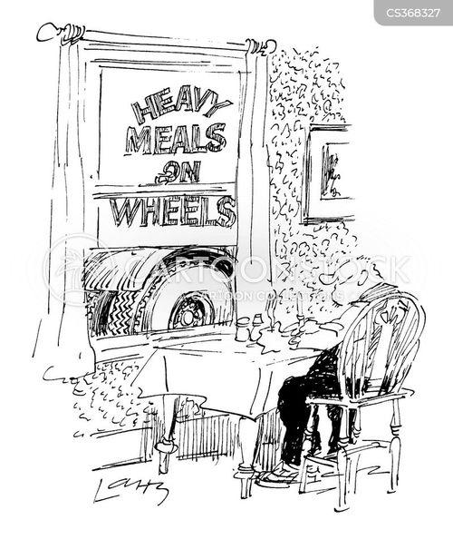 eighteen wheeler cartoon
