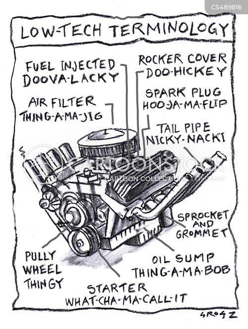 engine part cartoon