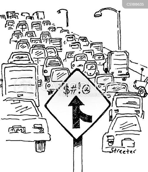 overcrowding cartoon