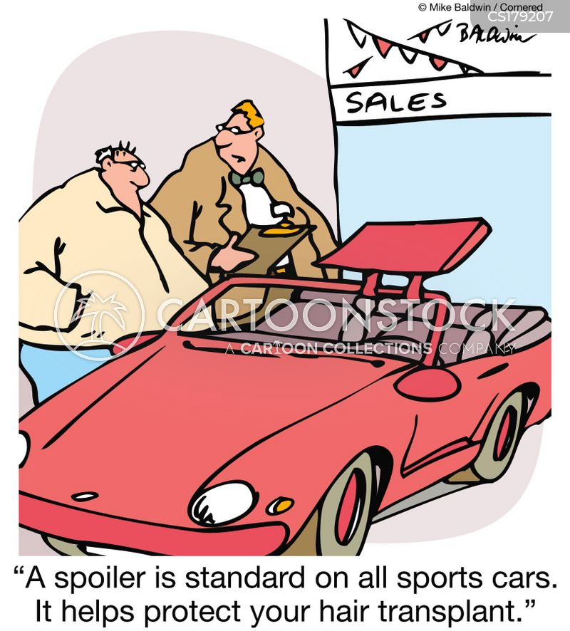 Sports Car Cartoons And Comics Funny Pictures From Cartoonstock