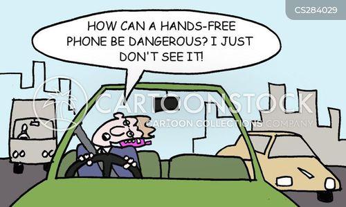 hands-free cartoon