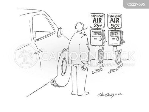 air pump cartoon