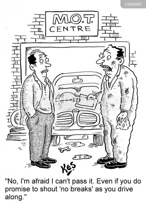 ministry of transport cartoon
