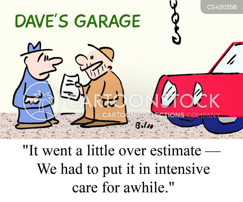 estimating cartoon