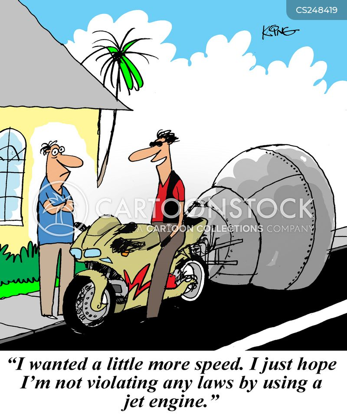 speed demon cartoon
