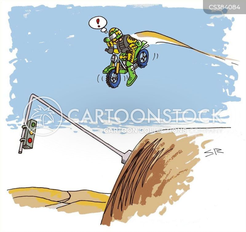 bmx cartoon
