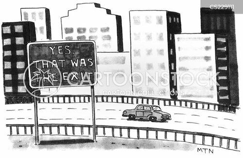 interstates cartoon