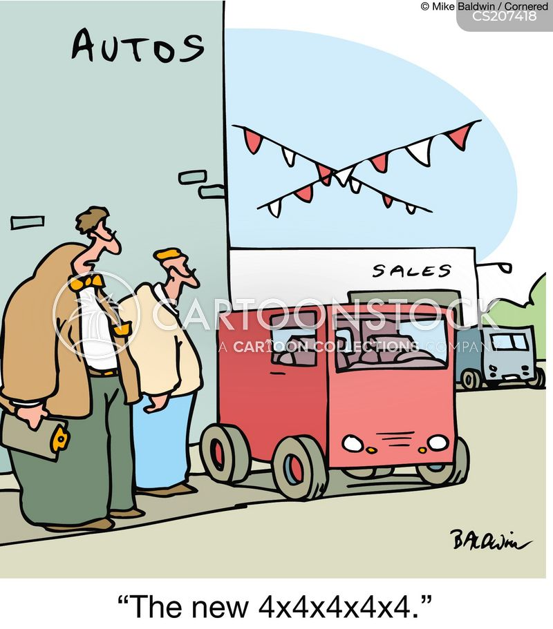 off road cartoon