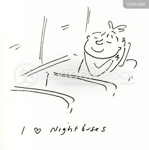 nightbuses cartoon