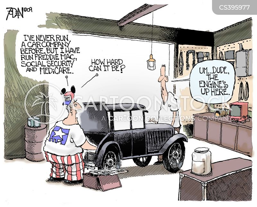 general motors cartoon