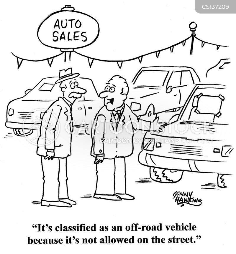 types of cars cartoon