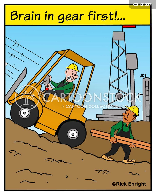 oil field cartoon