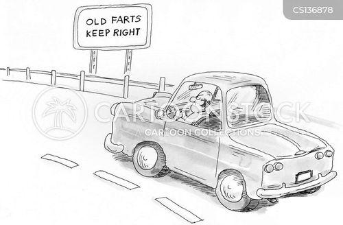 old fart cartoon