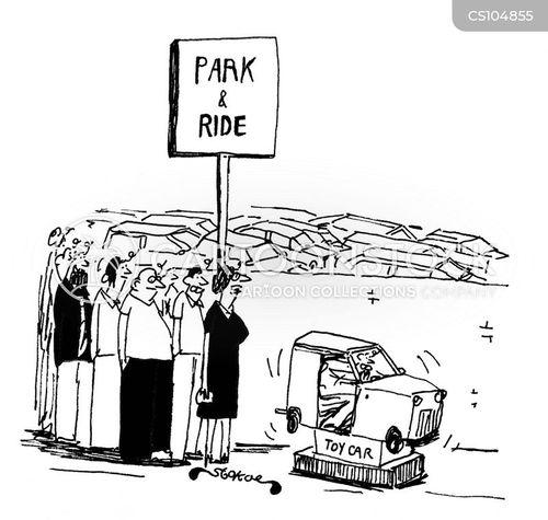 car ride cartoon
