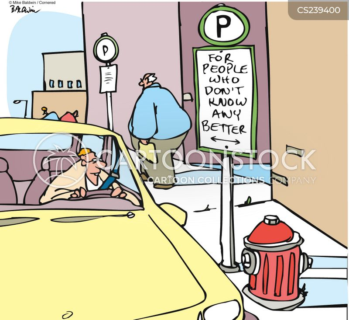 parking zone cartoon