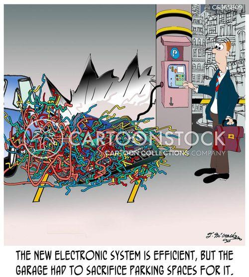 wiring cartoon