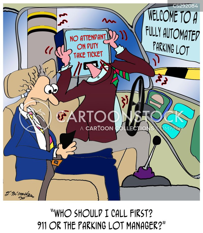 ticket machines cartoon