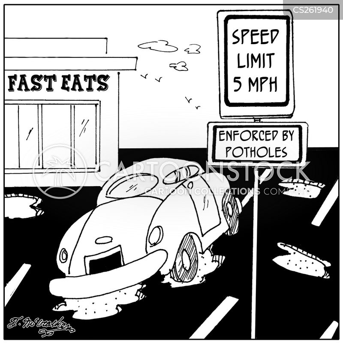 road surfaces cartoon