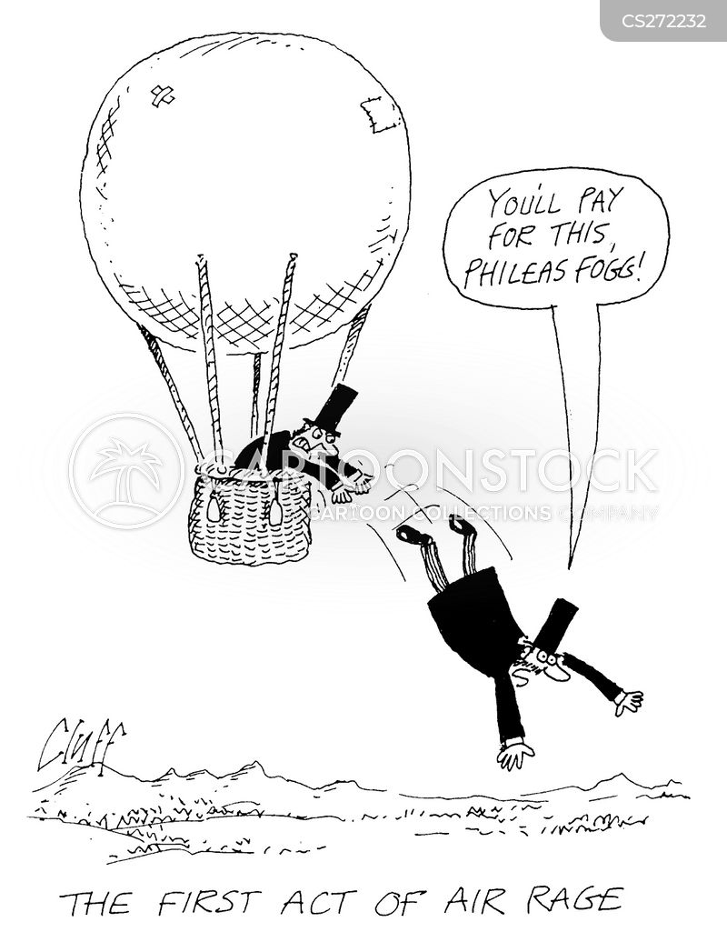 hot air balloon cartoon