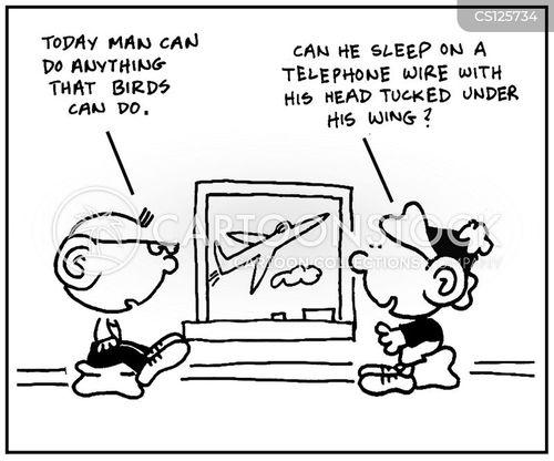 natural event cartoon