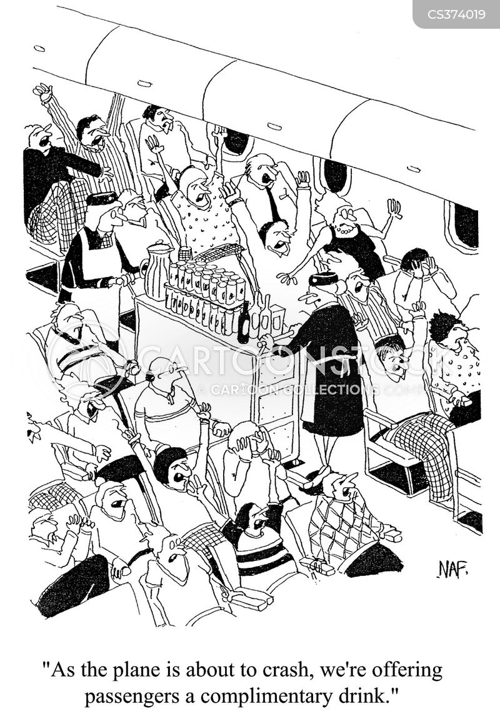 air steward cartoon