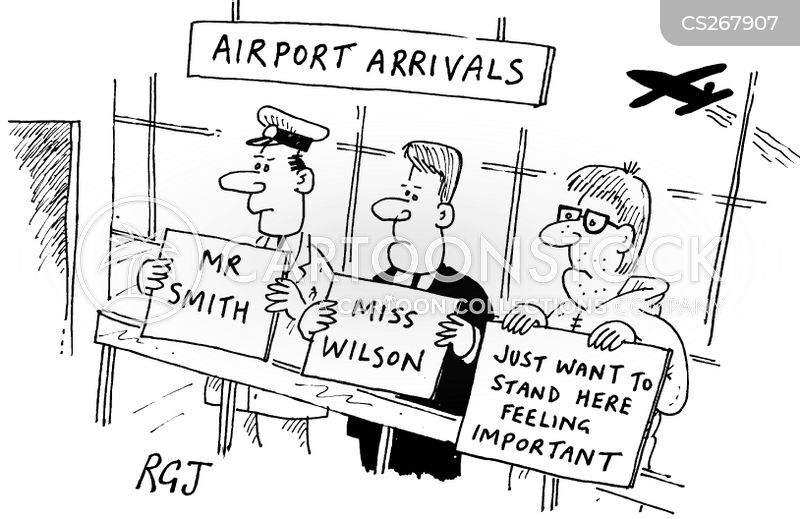 arrivals cartoon