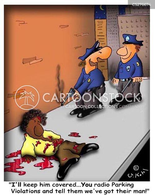 race row cartoon