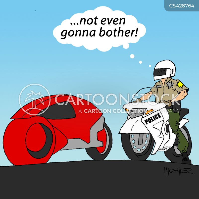 police chases cartoon