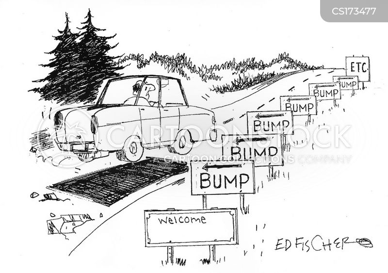 roadwork cartoon