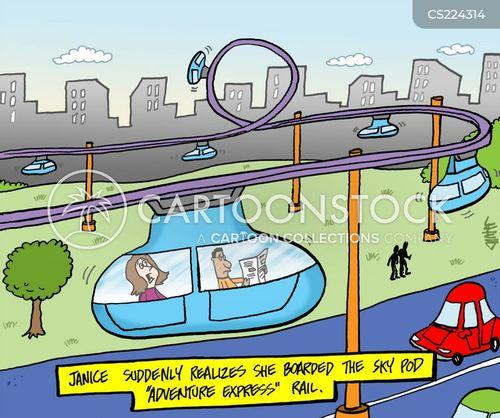 rail cartoon