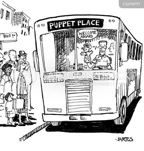 bus fare cartoon