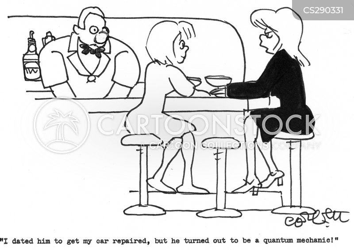 quantum mechanic cartoon