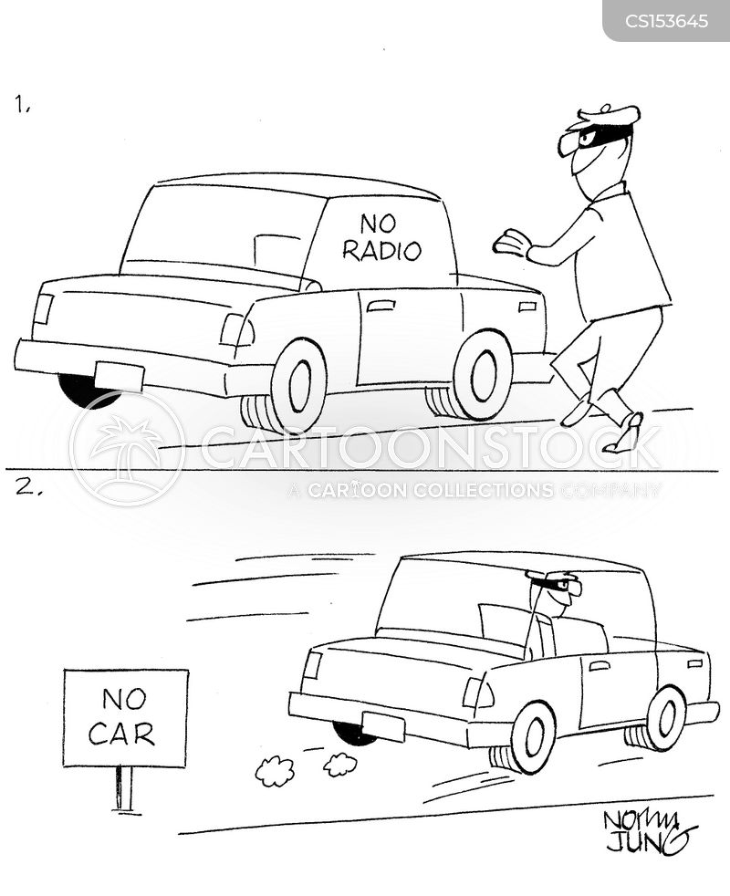 car jack cartoon