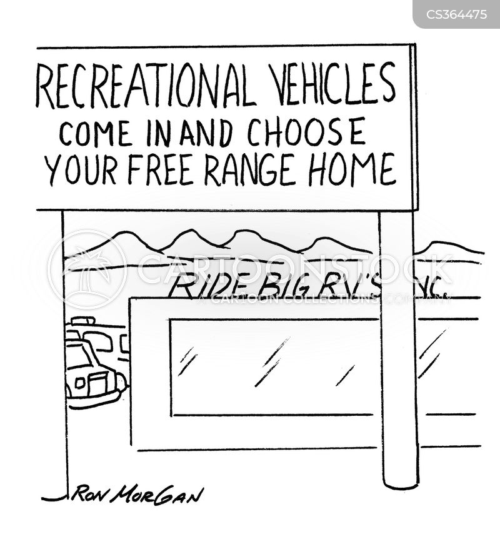recreational vehicle cartoon