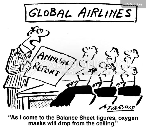 balance sheet cartoon