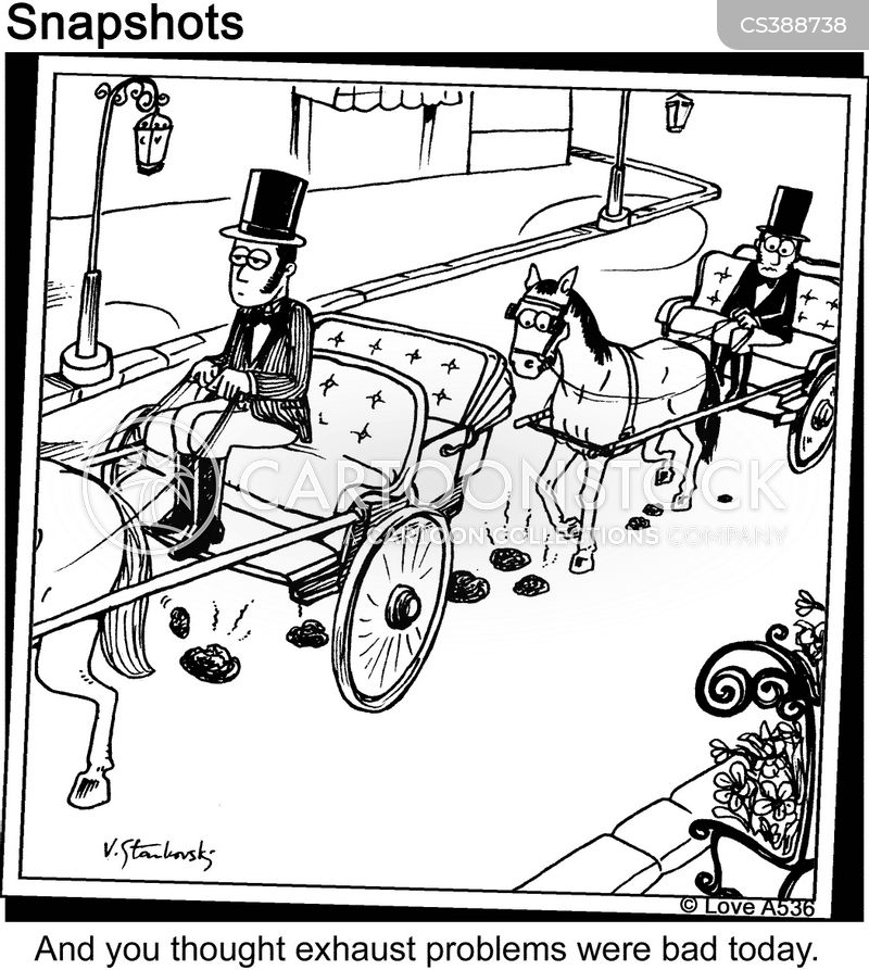 Horse And Carriage Drawing Horse Drawn Carriage Cartoon 6